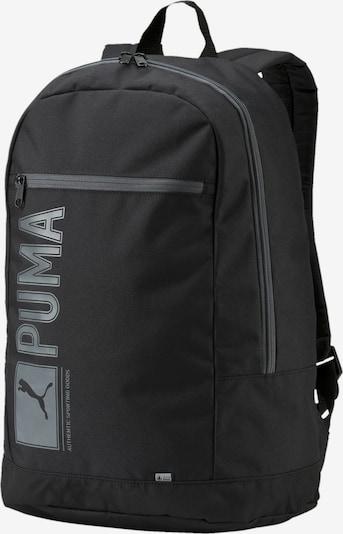 PUMA Rugzak 'Pioneer I' in de kleur Grijs / Zwart, Productweergave