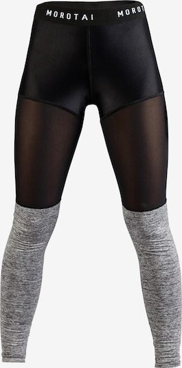 MOROTAI Sport-Leggings ' Mesh Bloc Tights ' in schwarz, Produktansicht