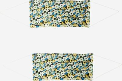 Mască de stofă '2er Pack Madeira' Zwillingsherz pe albastru / culori mixte, Vizualizare produs