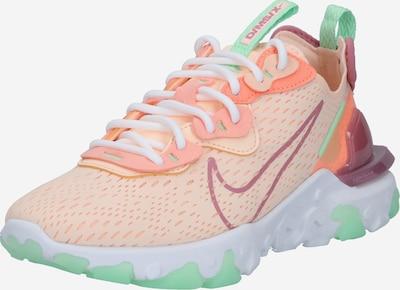 Nike Sportswear Sneaker 'React Vision' in pfirsich / pink: Frontalansicht