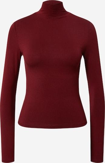 Gina Tricot T-shirt 'Dorsia' en lie de vin: Vue de face