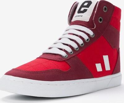 Ethletic Sneaker in rot / weinrot / weiß, Produktansicht