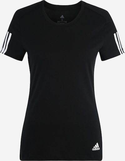 ADIDAS PERFORMANCE Functioneel shirt 'Run It' in de kleur Zwart / Wit, Productweergave
