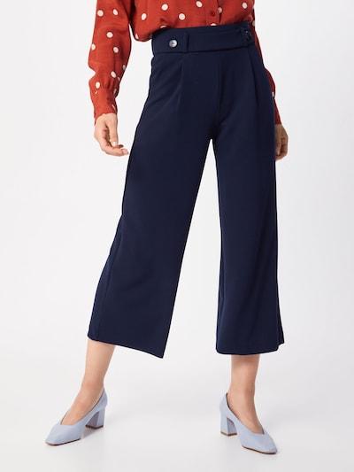 JACQUELINE de YONG Kalhoty se sklady v pase 'GEGGO' - noční modrá, Model/ka