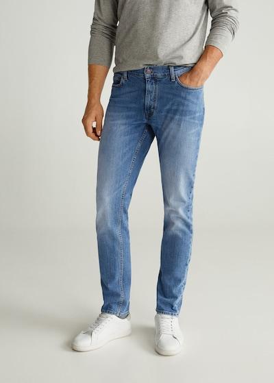 MANGO MAN Jeans 'Jan6' in blue denim, Modelansicht