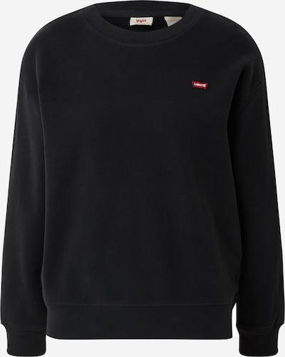 LEVI'S Sweatshirt 'STANDARD CREW' in schwarz, Produktansicht