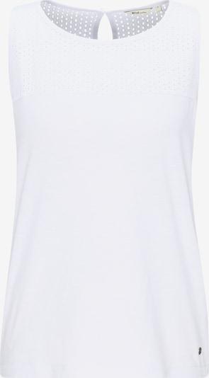 MUSTANG T-Shirt ' Fabricmix Tanktop ' in weiß, Produktansicht