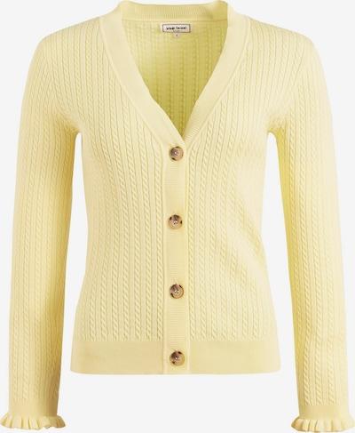 khujo Strickjacke ' SUSTU ' in gelb, Produktansicht