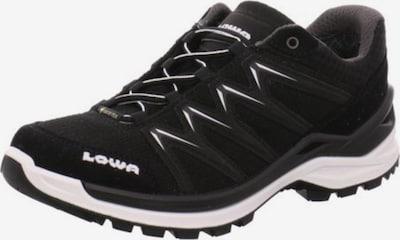 LOWA Outdoorschuhe in schwarz / weiß, Produktansicht