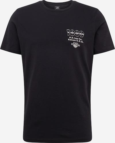 Lee Shirt 'SEASONAL LOGO TEE' in de kleur Zwart, Productweergave