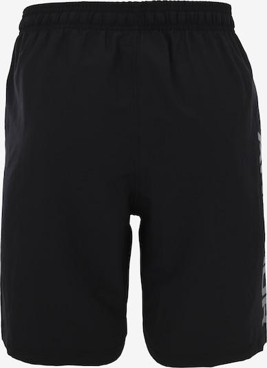 UNDER ARMOUR Sporthose in grau / schwarz: Rückansicht