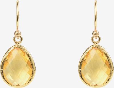 Latelita Ohrringe in gelb / gold, Produktansicht