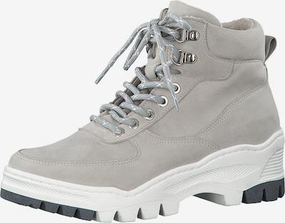 TAMARIS Chaussure à lacets en gris clair, Vue avec produit