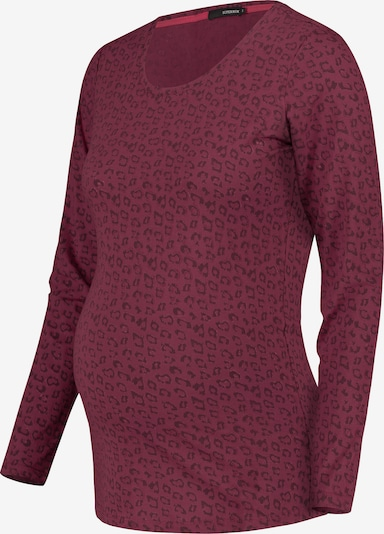 Supermom Shirt 'Leopard' in Berry / Red violet, Item view