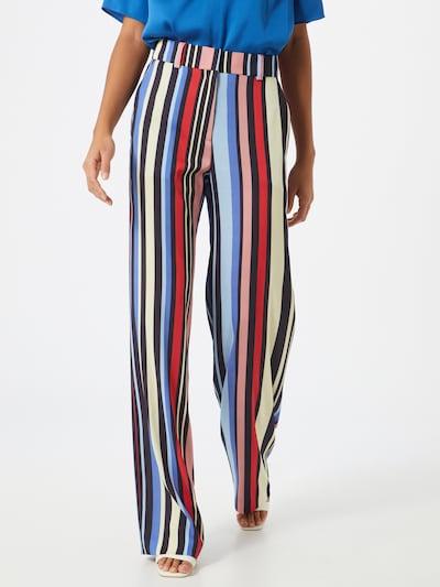 HUGO Pantalon 'Hatessi' en mélange de couleurs, Vue avec modèle