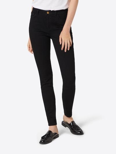 ABOUT YOU Jean 'Kira Jeans' en noir denim, Vue avec modèle