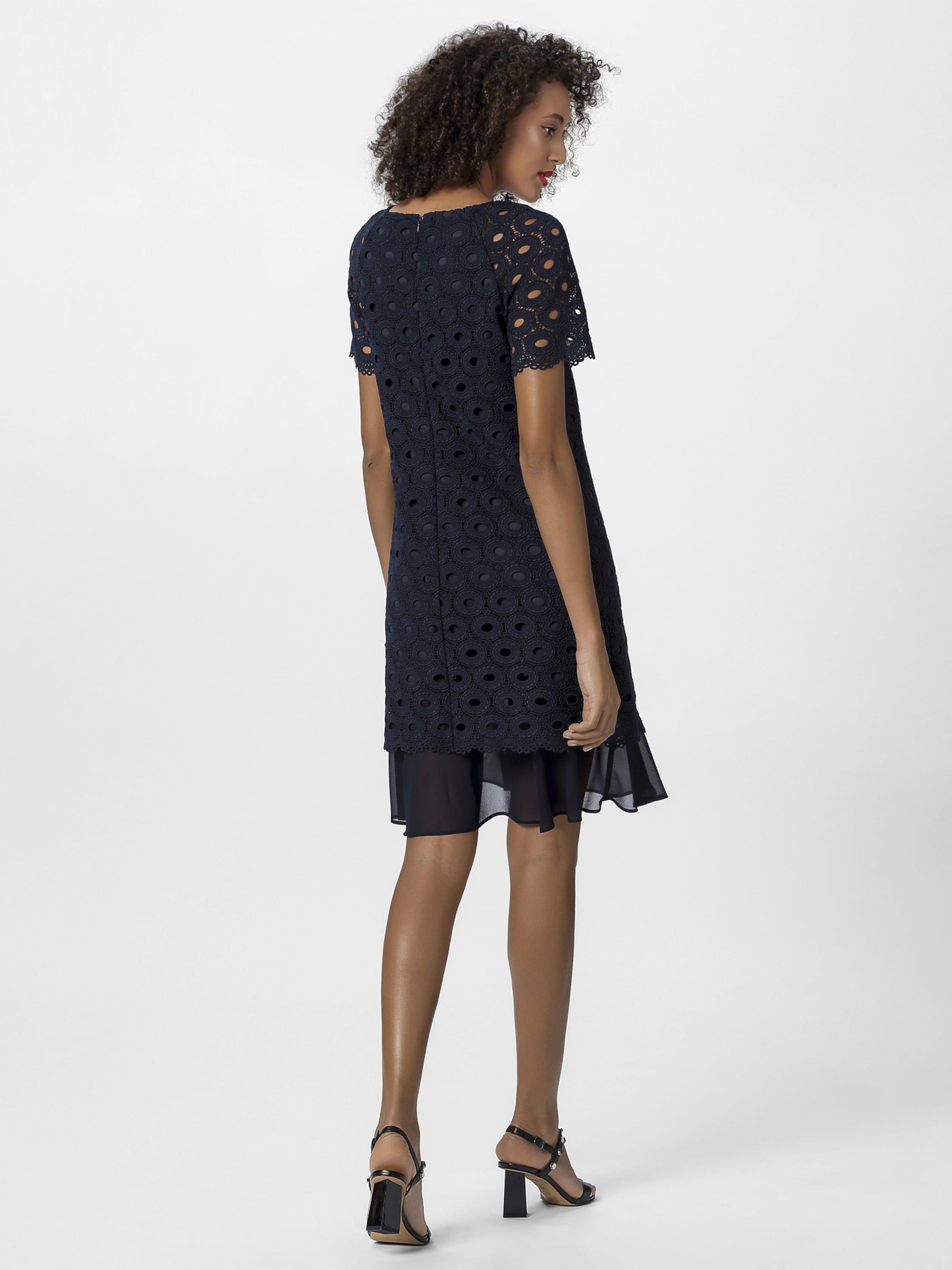 kleider apart damen spitzenkleid in leichter a-form