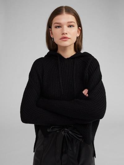 EDITED Pullover 'Lola' in schwarz: Frontalansicht