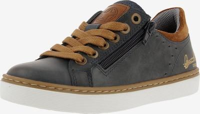 BULLBOXER Sneaker in dunkelblau / braun / weiß, Produktansicht