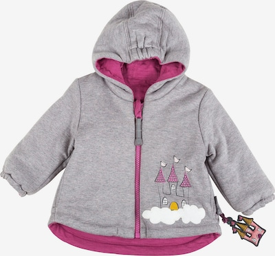 SIGIKID Übergangsjacke in grau / pink, Produktansicht