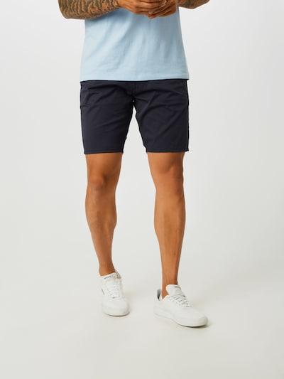 Pantaloni eleganți 'Daniel' GUESS pe navy: Privire frontală