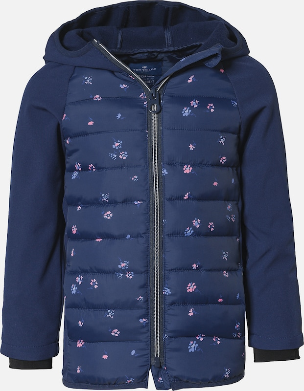 TOM TAILOR Softshelljacke in blau: Frontalansicht