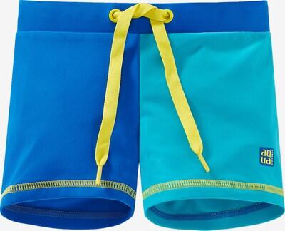 SCHIESSER Badehose in blau / gelb, Produktansicht