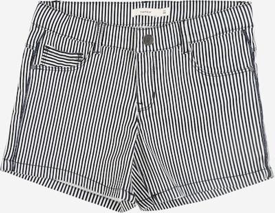 NAME IT Shorts 'Salli' in dunkelblau / weiß, Produktansicht