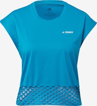 ADIDAS PERFORMANCE T-Shirt 'Terrex Agravic' in blau / silbergrau, Produktansicht