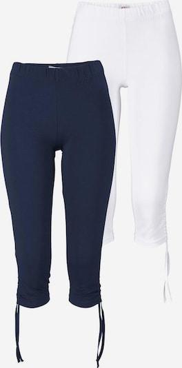 FLASHLIGHTS Leggings (Packung, 2er-Pack) in blau / weiß, Produktansicht