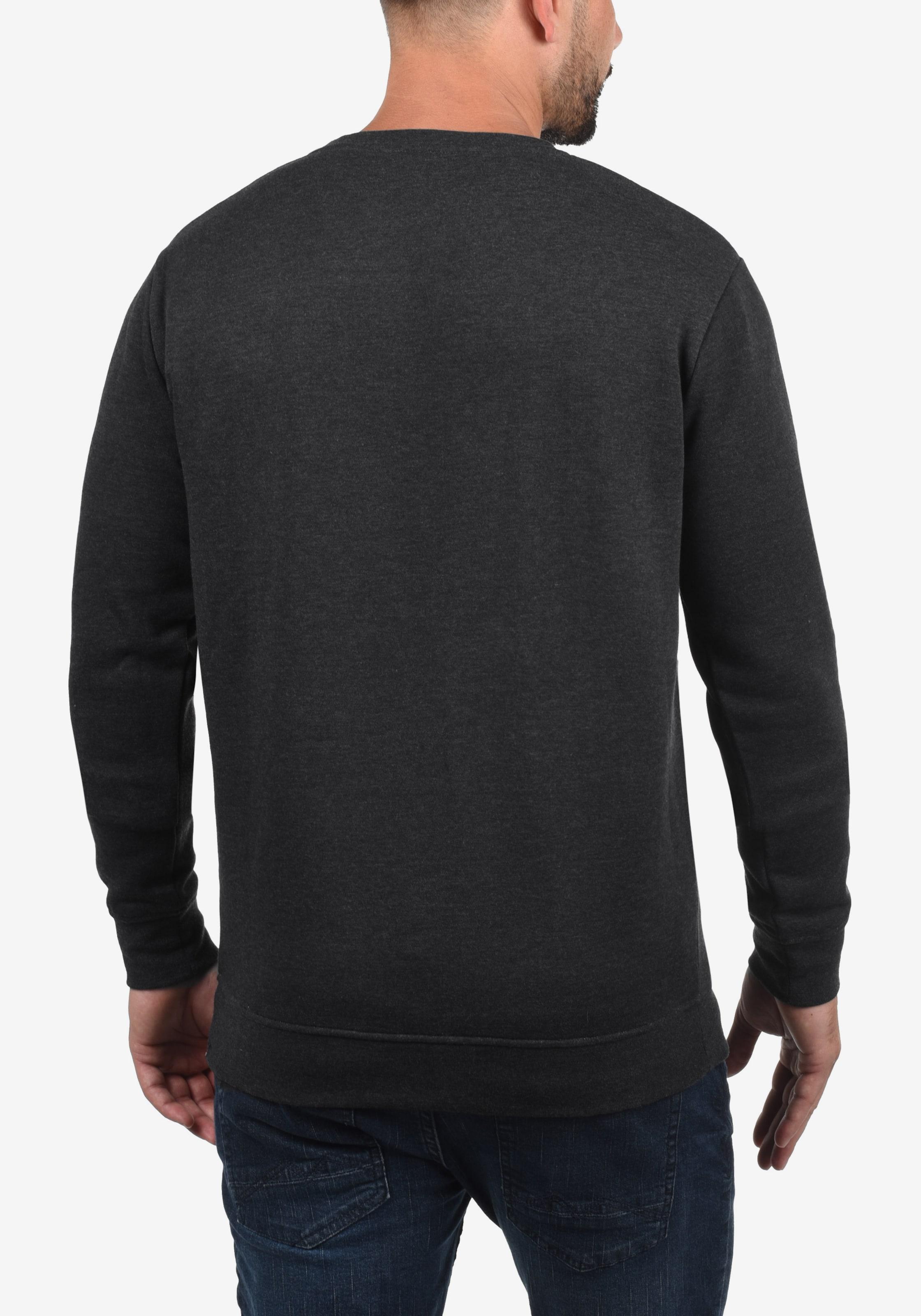 !Solid Sweatshirt 'Alask' in grau Sweatstoff ART119913-010