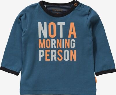 BESS Shirt in azur / dunkelblau / orange, Produktansicht