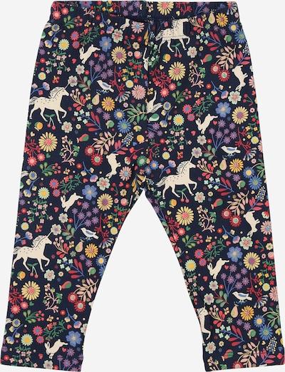 GAP Pantalon en bleu marine / mélange de couleurs, Vue avec produit