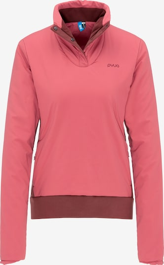PYUA Sweater 'Cute' in pink / orangerot, Produktansicht