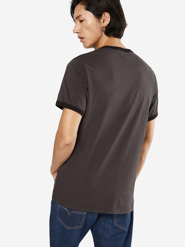 LEVI'S T-Shirt 'SS RINGER TEE SPORTSWEAR'