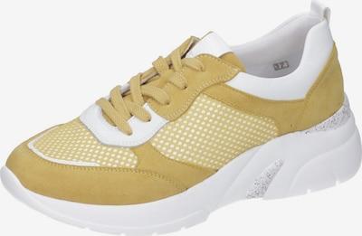 REMONTE Sneakers Low in gelb / weiß, Produktansicht