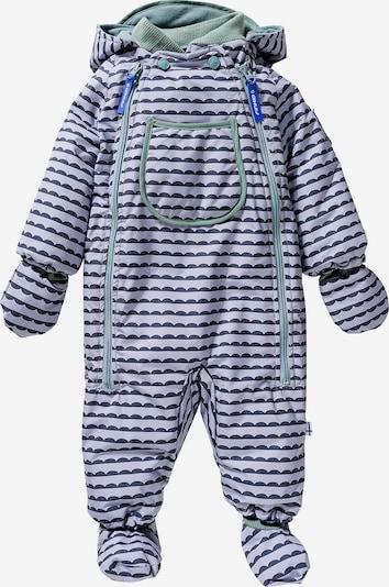FINKID Overall 'Hali' in nachtblau / grau / mint, Produktansicht