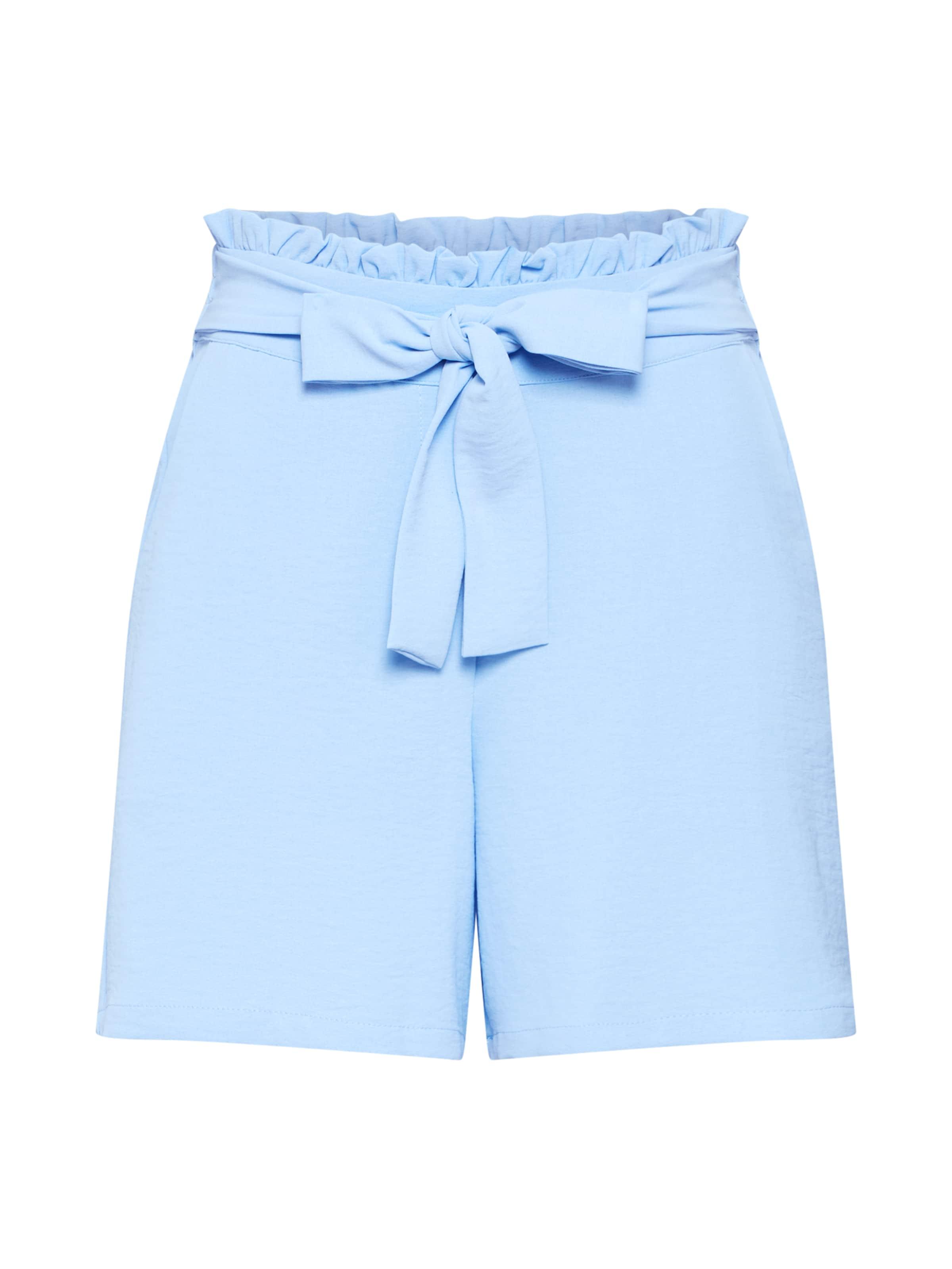 Vila En 'rasha' Pantalon Clair Bleu KTFlc1J