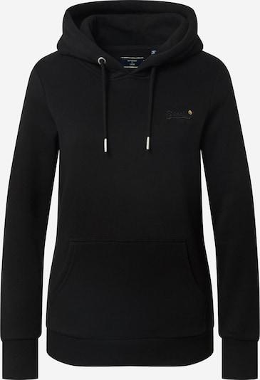 Superdry Majica 'Orange Label Overhead' | črna barva, Prikaz izdelka