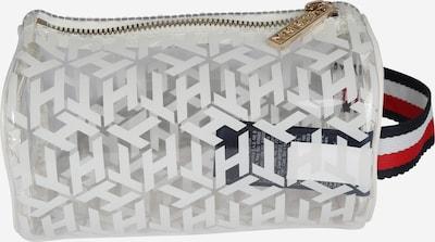 TOMMY HILFIGER Kozmetična torbica 'ICONIC' | modra / transparentna / bela barva, Prikaz izdelka