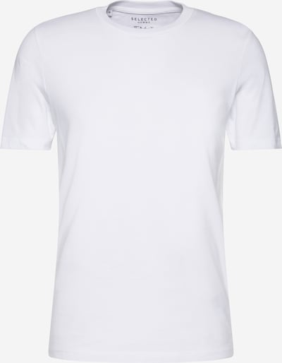 SELECTED HOMME Särk 'SHDTHEPERFECT SS O-NECK TEE NOOS' valge, Tootevaade