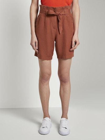 TOM TAILOR Shorts in braun, Modelansicht