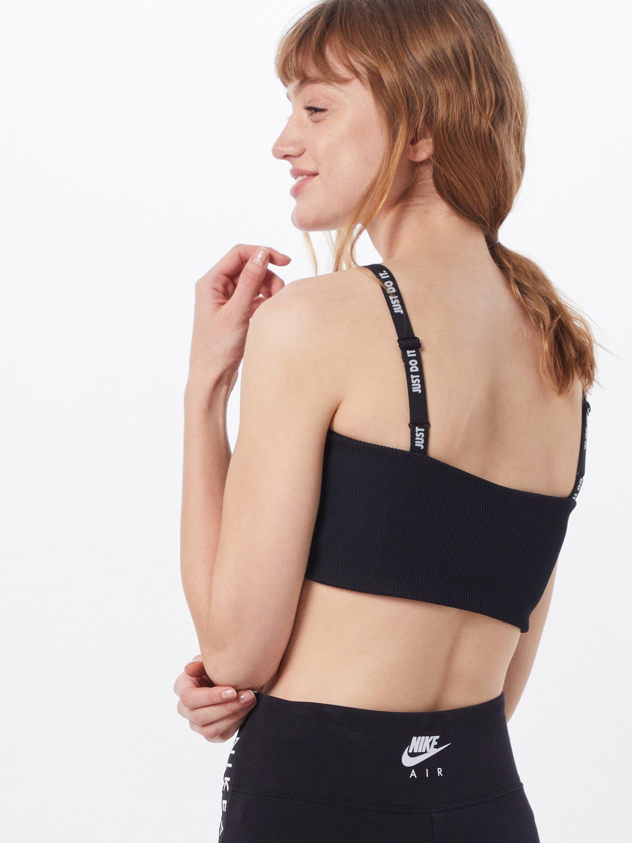 Nike Sportswear Topp 'W NSW TOP JDI RIB' i svart