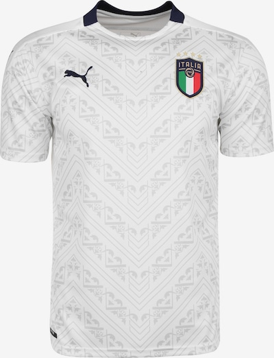 PUMA Trikot 'FIGC Italien EM 2020' in navy / hellgrau / weiß, Produktansicht