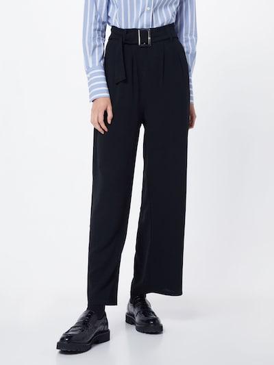 Klostuotos kelnės 'Maria' iš ABOUT YOU , spalva - juoda, Modelio vaizdas
