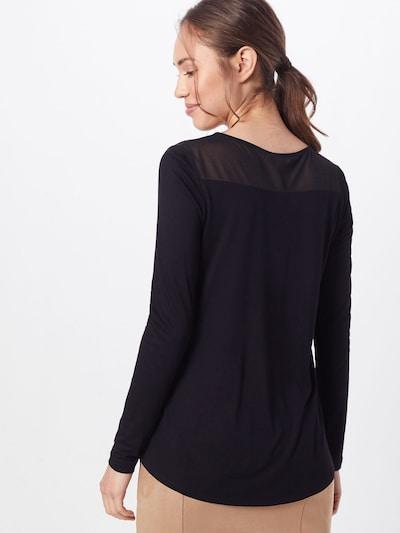 Marškinėliai 'Sybille' iš ABOUT YOU , spalva - juoda: Vaizdas iš galinės pusės