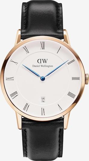 Daniel Wellington Uhr in schwarz / perlweiß, Produktansicht