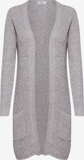 ONLY Cardigan 'BERNICE' in grau: Frontalansicht