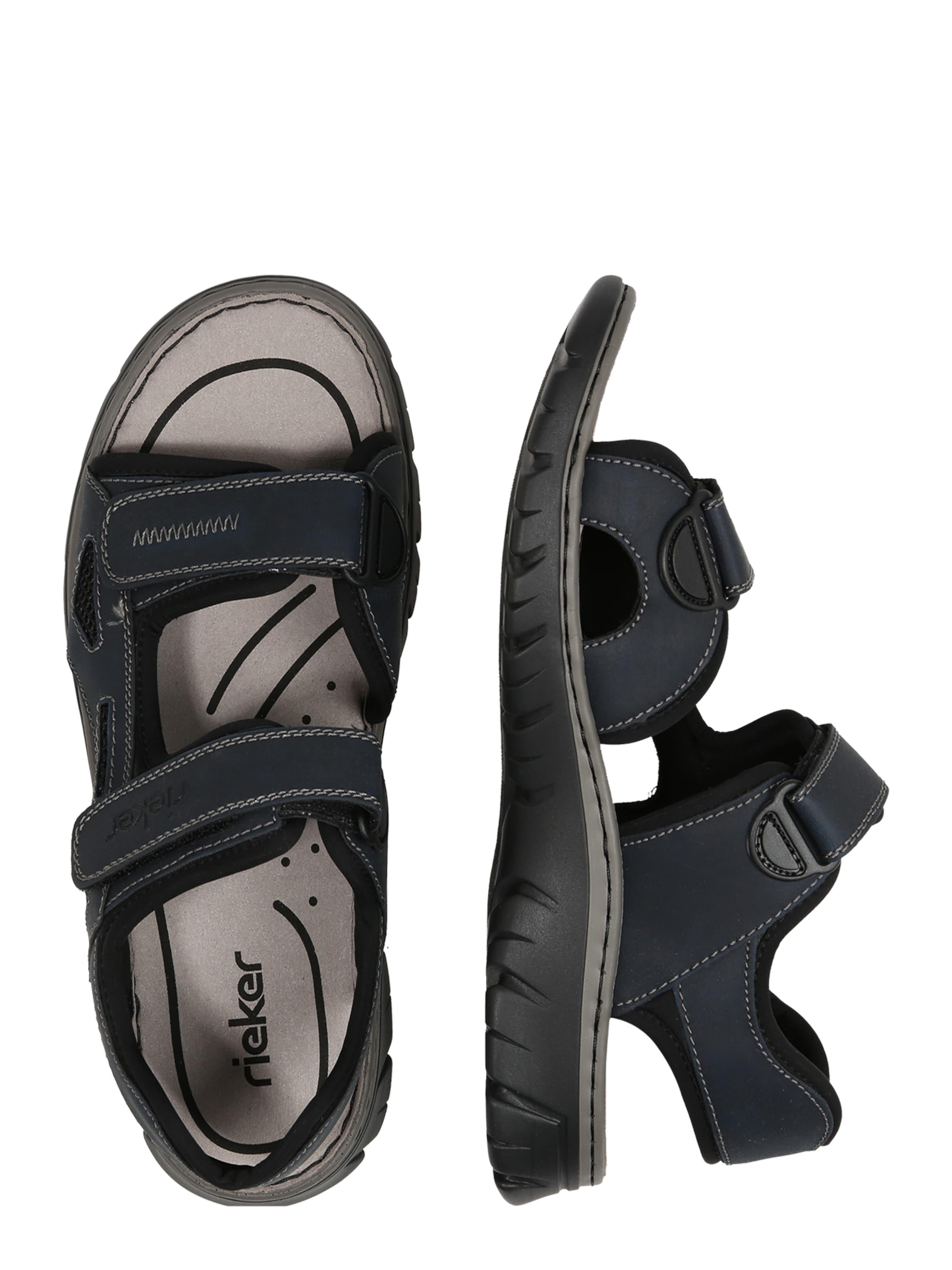 Rieker '26761 NavySchwarz Sandale In 14' 7fmIY6gybv