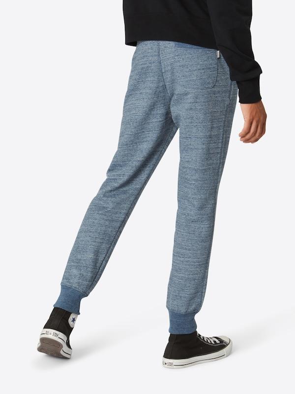 Pantalon Bleu Pants Noos' Marine Sweat En Jackamp; Jones 'jjespace Melange VpSUzMq